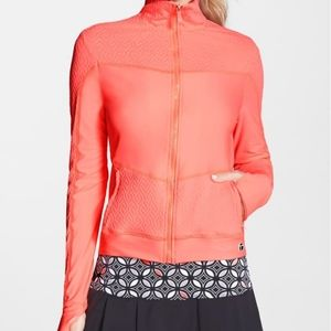 TRINA TURK Recreation workout jacket